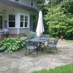 Broken (irregular) Bluestone Patio