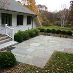 Multiple Pattern Bluestone Patio