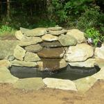 Reworked existing water feature